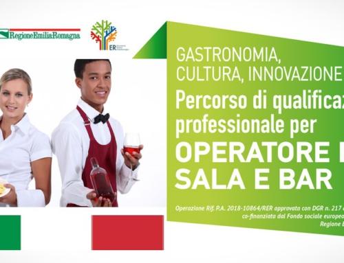 Percorso di qualificazione professionale per OPERATORE DI SALA E BAR: esito prova di lingua italiana