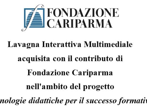 Nuova LIM grazie alla Fondazione CARIPARMA